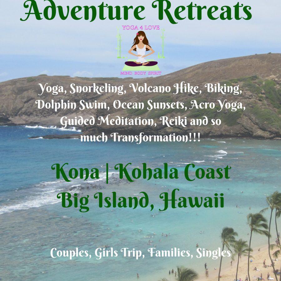 Hawaii Yoga 4 Love Adventure Retreats